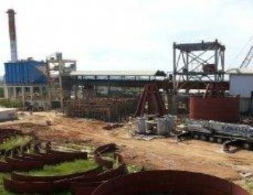 Thumbnail for A wet 500 tpd cement plant upgrade to 2100 tpd dry proces on track for commissioning in 2014 South o